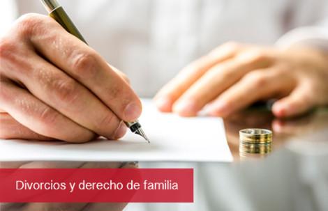 Divorcios y derecho de familia