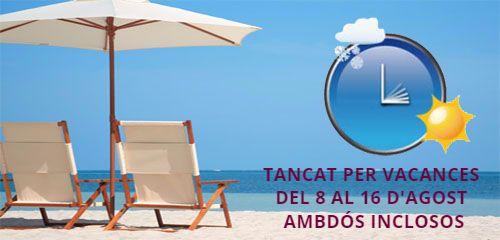 A Corellano Tanquem per Vacances!!! Us desitgem un Bon estiu